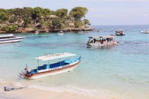 local boat to lembongan