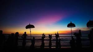 Melasti in Bali