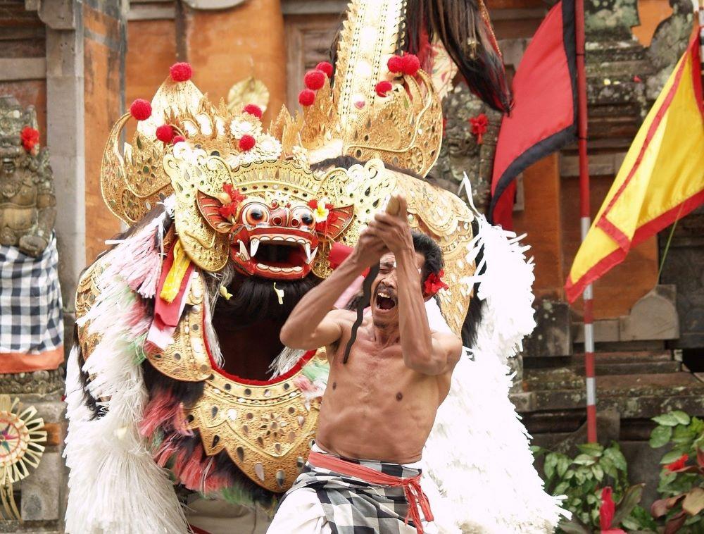 Balinese Barong and Keris Dance